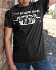 LIFE BEHIND BARS Classic T-Shirt apparel-classic-tshirt-lifestyle-27