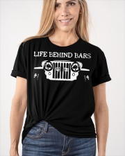 LIFE BEHIND BARS Classic T-Shirt apparel-classic-tshirt-lifestyle-front-101