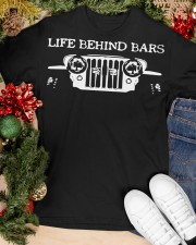 LIFE BEHIND BARS Classic T-Shirt apparel-classic-tshirt-lifestyle-front-82
