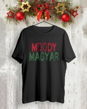 Moody Magyar Classic T-Shirt lifestyle-holiday-crewneck-front-2