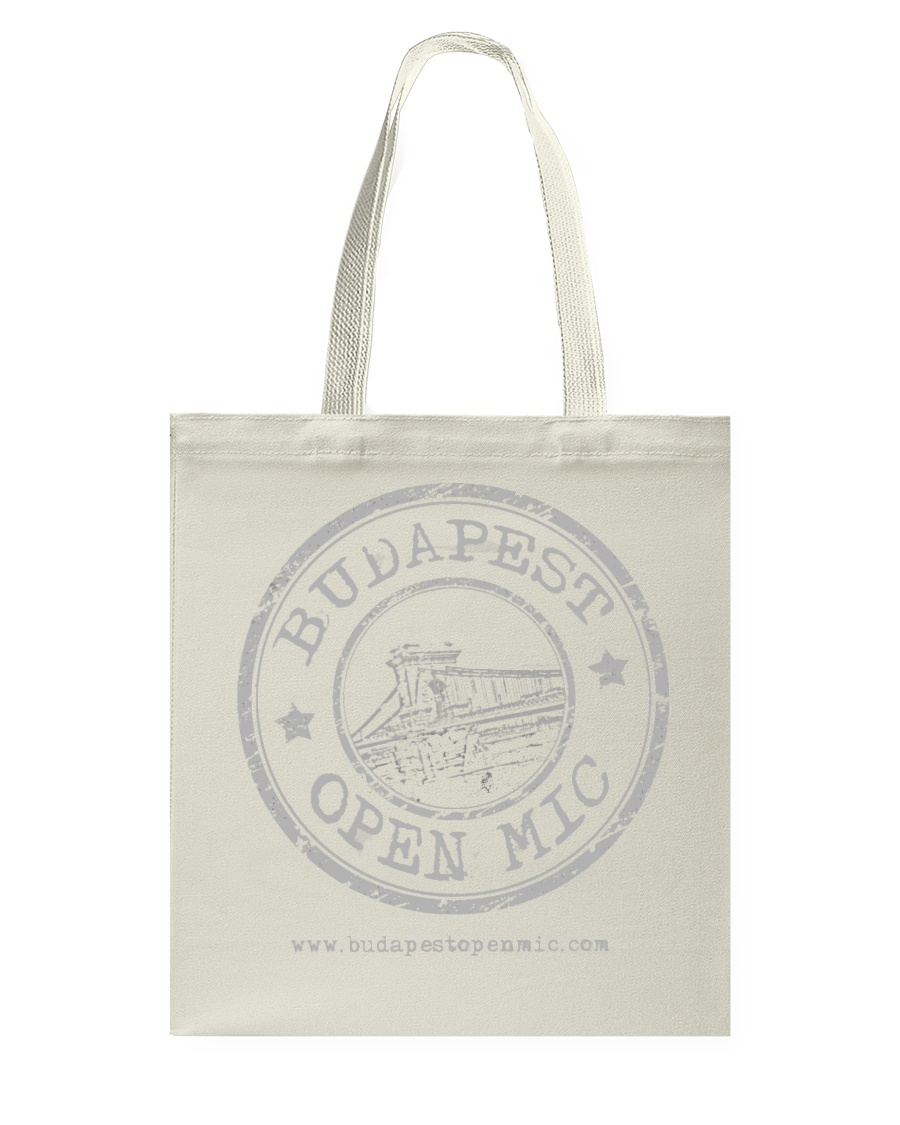 Budapest Open Mic Tote Bag