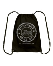 Budapest Open Mic Drawstring Bag front