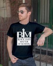 Black Lives Matter At School Shirt Classic T-Shirt lifestyle-mens-crewneck-front-2