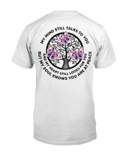 Gem Butterfly My Mind Still Talks Heartbeat - LTE  Classic T-Shirt back