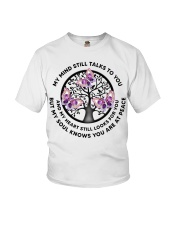 Gem Butterfly My Mind Still Talks Heartbeat - LTE  Youth T-Shirt thumbnail