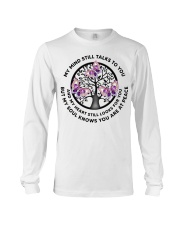 Gem Butterfly My Mind Still Talks Heartbeat - LTE  Long Sleeve Tee thumbnail