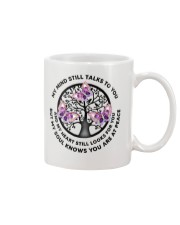 Gem Butterfly My Mind Still Talks Heartbeat - LTE  Mug thumbnail