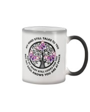 Gem Butterfly My Mind Still Talks Heartbeat - LTE  Color Changing Mug thumbnail