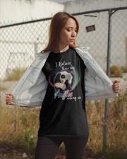 Panda I Believe Angels  Classic T-Shirt apparel-classic-tshirt-lifestyle-07