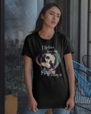 Panda I Believe Angels  Classic T-Shirt apparel-classic-tshirt-lifestyle-08