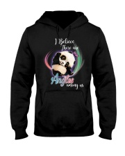 Panda I Believe Angels  Hooded Sweatshirt thumbnail