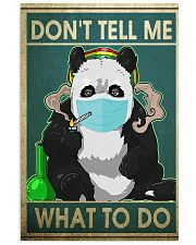 FUNNY PANDA DON'T TELL ME WHAT TO DO - LTD   11x17 Poster front