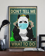 FUNNY PANDA DON'T TELL ME WHAT TO DO - LTD   11x17 Poster lifestyle-poster-2