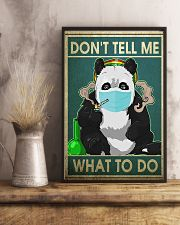 FUNNY PANDA DON'T TELL ME WHAT TO DO - LTD   11x17 Poster lifestyle-poster-3