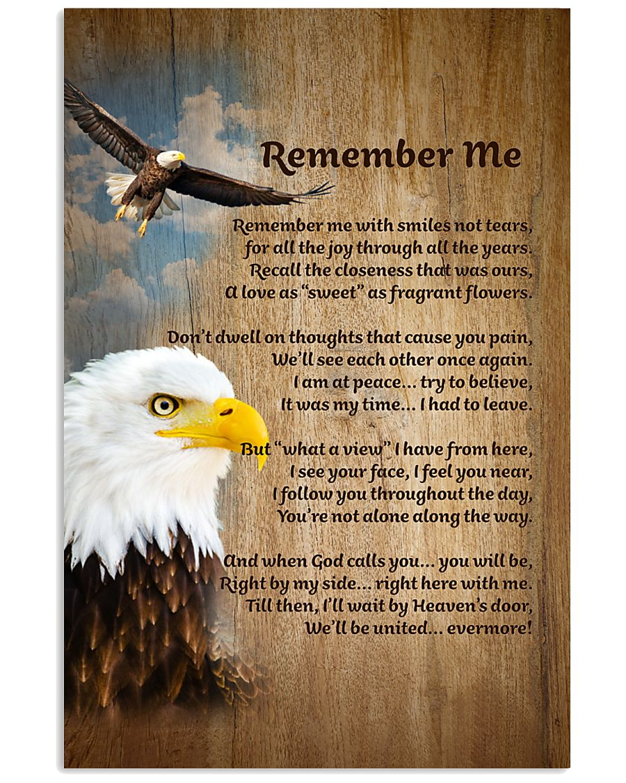 EAGLE REMEMBER ME POSTER  11x17 Poster