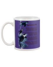 ORCAS REMEMBER ME MUG Mug back