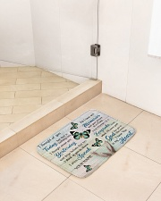 """Butterfly I Thought Of You Today - LIMITED EDITION Bath Mat - 24"""" x 17"""" aos-accessory-bath-mat-24x17-lifestyle-front-01"""