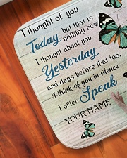"""Butterfly I Thought Of You Today - LIMITED EDITION Bath Mat - 24"""" x 17"""" aos-accessory-bath-mat-24x17-lifestyle-front-05"""