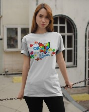BUTTERFLY IT'S OK TO BE DIFFERENT Classic T-Shirt apparel-classic-tshirt-lifestyle-19