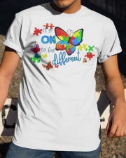 BUTTERFLY IT'S OK TO BE DIFFERENT Classic T-Shirt apparel-classic-tshirt-lifestyle-28