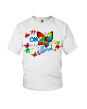 BUTTERFLY IT'S OK TO BE DIFFERENT Youth T-Shirt thumbnail