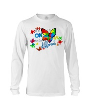 BUTTERFLY IT'S OK TO BE DIFFERENT Long Sleeve Tee thumbnail
