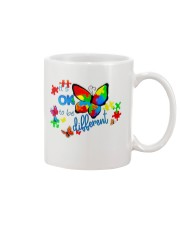 BUTTERFLY IT'S OK TO BE DIFFERENT Mug thumbnail