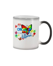 BUTTERFLY IT'S OK TO BE DIFFERENT Color Changing Mug thumbnail