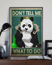PANDA DON'T TELL ME WHAT TO DO - LIMITED EDITION  11x17 Poster lifestyle-poster-2