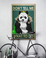 PANDA DON'T TELL ME WHAT TO DO - LIMITED EDITION  11x17 Poster lifestyle-poster-7