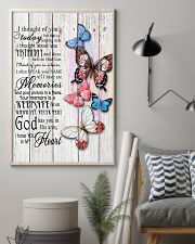 Butterfly I Thought Of You - LTE  11x17 Poster lifestyle-poster-1