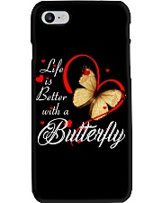 BUTTERFLY LIFE IS BETTER Phone Case thumbnail
