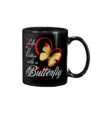 BUTTERFLY LIFE IS BETTER Mug thumbnail