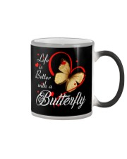 BUTTERFLY LIFE IS BETTER Color Changing Mug thumbnail