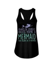 Mermaid Ladies Flowy Tank thumbnail