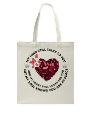 Butterfly Piece of Hear My Mind Still Talks - LTE  Tote Bag thumbnail