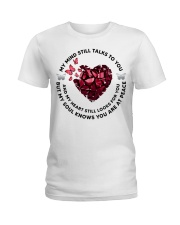 Butterfly Piece of Hear My Mind Still Talks - LTE  Ladies T-Shirt thumbnail