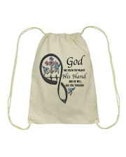 Blue Hummingbirds  God Cross Has You - LTE Drawstring Bag thumbnail