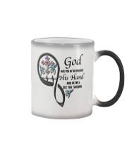 Blue Hummingbirds  God Cross Has You - LTE Color Changing Mug thumbnail