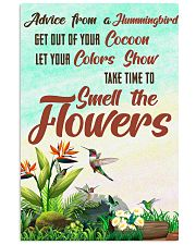 Hummingbird Advice MI0173 11x17 Poster front