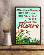 Hummingbird Advice MI0173 11x17 Poster lifestyle-poster-3