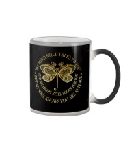 DRAGONFLY MY MIND STILL TALKS TO YOU VER 2 Color Changing Mug thumbnail