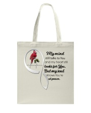 Bird My Mind Still Talks Heartbeat - LTE  Tote Bag thumbnail