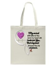 Family Bird My Mind Still Talks To You - LTE Tote Bag thumbnail
