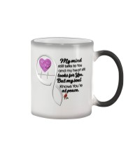 Family Bird My Mind Still Talks To You - LTE Color Changing Mug thumbnail