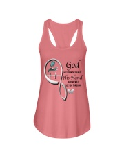 Butterfly On Lady Hand God Has You - LTE Ladies Flowy Tank thumbnail