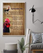 Rooster Remember Me - LTE  11x17 Poster lifestyle-poster-1