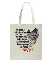 Dragonflies My Mind Still Talks To You - LTE Tote Bag thumbnail