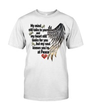 Dragonflies My Mind Still Talks To You - LTE Classic T-Shirt front