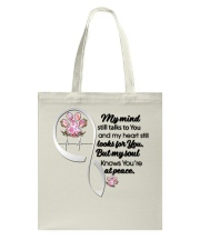 Family Dog My Mind Still Talks To You - LTE Tote Bag thumbnail